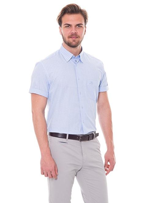 Karaca Klasik Gömlek Mavi